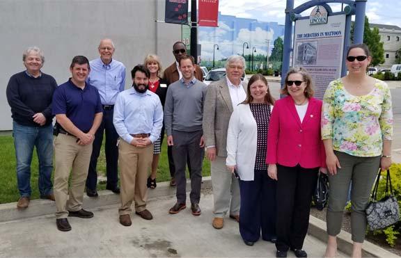 Group photo of Rural Partners members.